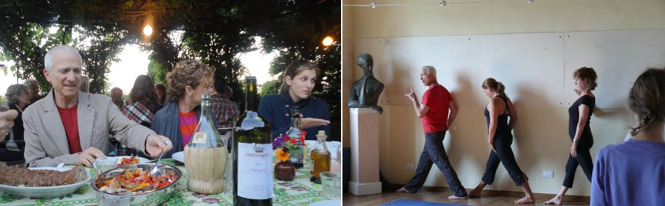 Art and Yoga Course with  Andrea Borsuk, Jenni Fox and Paul Gould