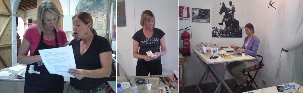 Painting Studios - Art and Yoga Course